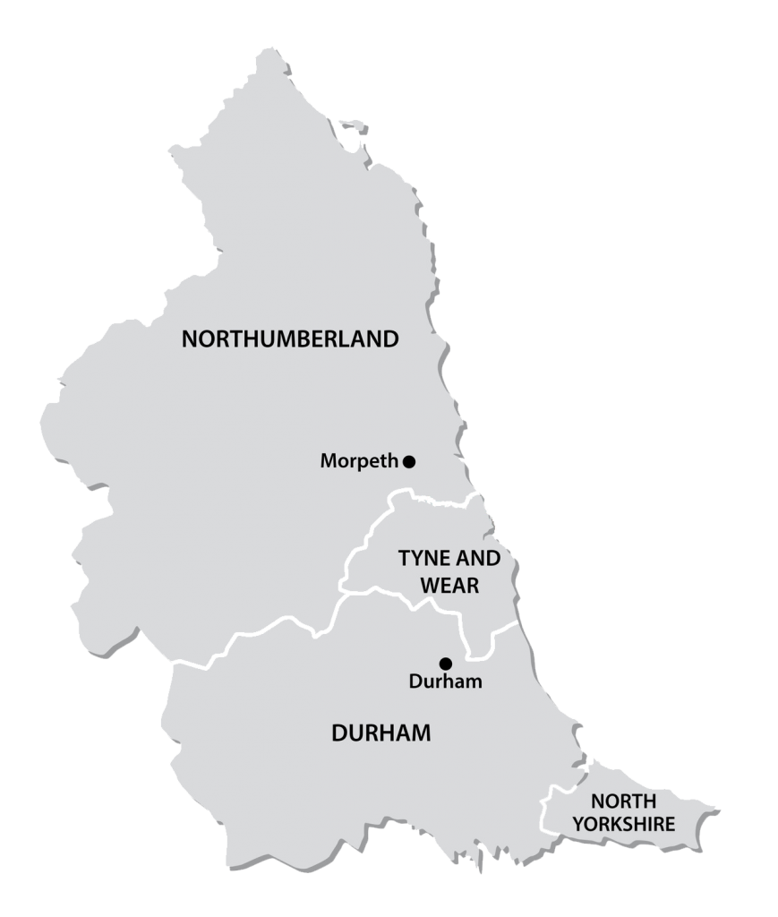 North East Map